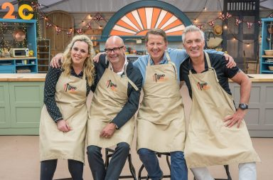 Great British Bake Off: Stand To Cancer 2017: - Bill, Harry, Martin and Roisin