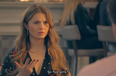Screen Shot: A very CONFUSED Mimi Bouchard - Made in Chelsea, E4