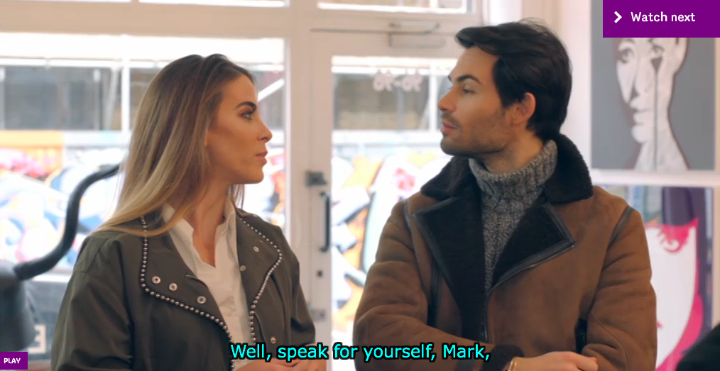 Screen Shot: Made in Chelsea, E4