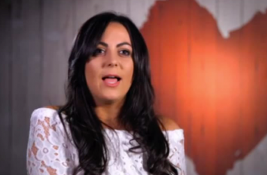 Screen Shot: Kate Middleton lookalike Sonia - First Dates, Channel 4, series 10, episode 7