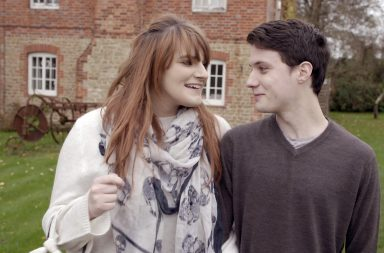 Jack and Chloe smiling outdoors