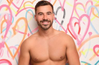 Alex Miller - Love Island, ITV2, series 4