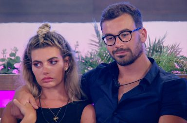 Love Island tonight - Megan and Alex.