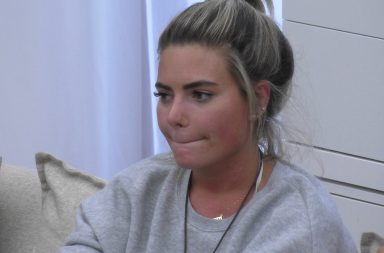 From ITV Studios Love Island: SR4: Ep50 on ITV2 Pictured: Megan Barton-Hanson stripper past - after the lie detector test.
