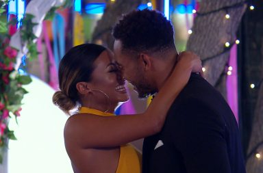 From ITV Studios Love Island: SR4: Ep57 on ITV2 Pictured: Josh and Kaz kiss