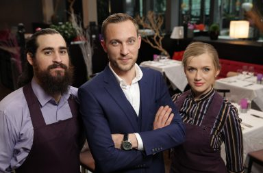 First Dates Abroad - Ireland - Ethan Miles, Mateo Saina and Alice Marr.