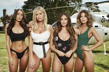 From Lime Pictures The Only Way Is Essex: SR21 on ITVBe Pictured: Clelia Theodorou, Chloe Meadows, Courtney Green and Chloe Lewis. This photograph is (C) ITV Plc and can only be reproduced for editorial purposes directly in connection with the programme or event mentioned above, or ITV plc. Once made available by ITV plc Picture Desk, this photograph can be reproduced once only up until the transmission [TX] date and no reproduction fee will be charged. Any subsequent usage may incur a fee. This photograph must not be manipulated [excluding basic cropping] in a manner which alters the visual appearance of the person photographed deemed detrimental or inappropriate by ITV plc Picture Desk. This photograph must not be syndicated to any other company, publication or website, or permanently archived, without the express written permission of ITV Plc Picture Desk. Full Terms and conditions are available on the website www.itvpictures.co.uk For further information please contact: james.hilder@itv.com / 0207 157 3052 https://www.itvpictures.co.uk/Pages/Image-Categories/ITVBe/THE_ONLY_WAY_IS_ESSEX_SR23/POOL_PARTY/POOL_PARTY.aspx