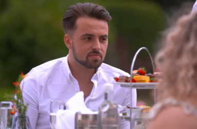 Screen Shot: Zak - Celebs Go Dating, E4