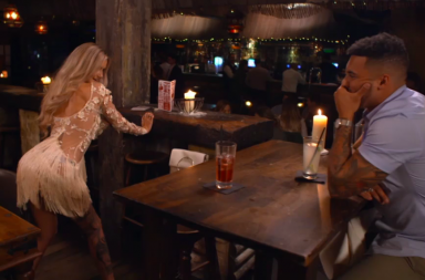 Screen Shot: Celebs Go Dating, Amy and Callum, season 5 episode 12