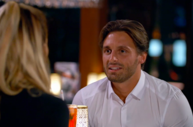 Screen Shot: Celebs Go Dating - Olivia and Tommy