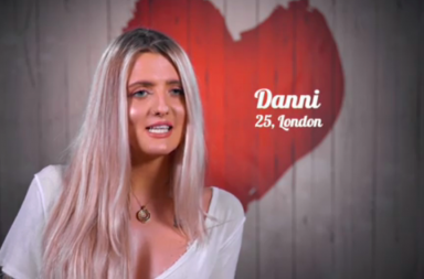 Screen Shot: First Dates Danni - Channel 4