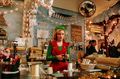 From Warner Bros Elf on ITV Pictured: Jovie [Zooey Deschanel].