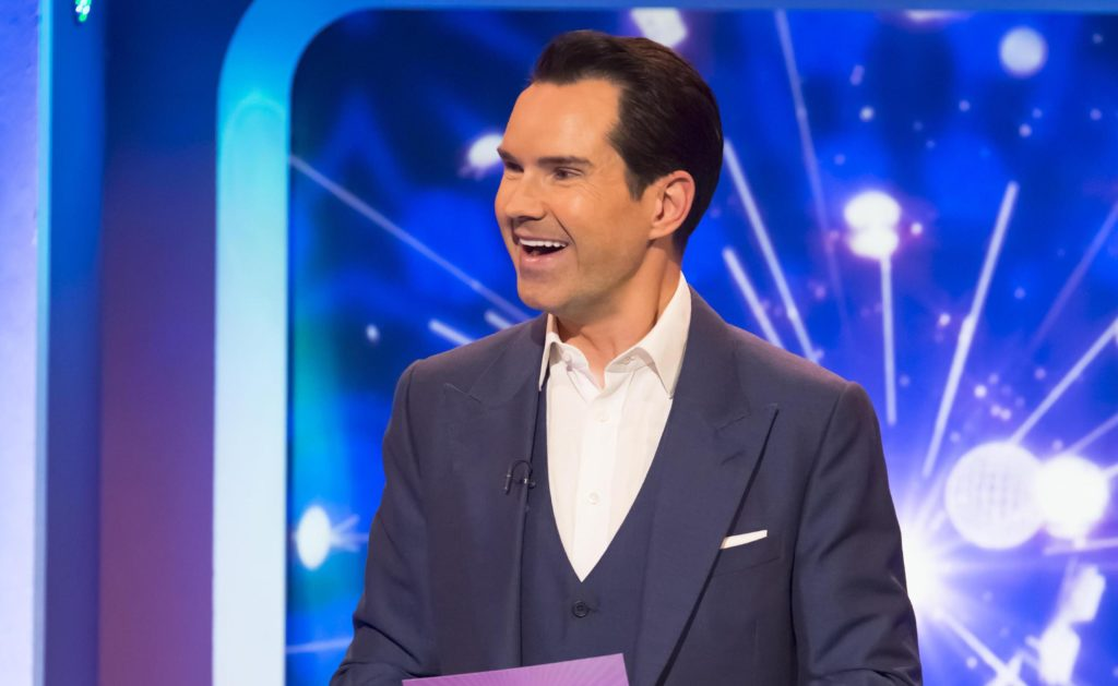 Big Fat Quiz of The Year 2017: - Presenter Jimmy Carr