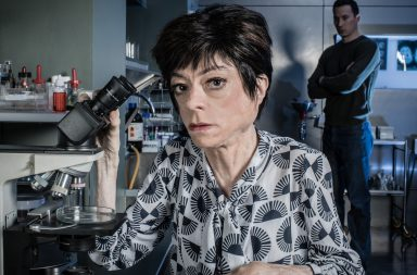 Programme Name: Silent Witness XXII - TX: n/a - Episode: Generic (No. n/a) - Picture Shows: Clarissa Mullery [LIZ CARR], Dr Jack Hodgson [DAVID CAVES] - (C) BBC - Photographer: Sally Mais
