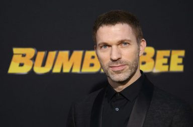 "HOLLYWOOD, CALIFORNIA - DECEMBER 09: Travis Knight arrives to the Los Angeles premiere of Paramount Pictures' ""Bumblebee"" held at TCL Chinese Theatre on December 09, 2018 in Hollywood, California. (Photo by Michael Tran/FilmMagic)"