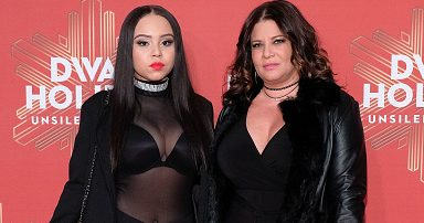 NEW YORK, NY - DECEMBER 02: Karen Gravano (R) and daughter Karina Seabrook attend the 2016 VH1 Divas Holiday: Unsilent Night at Kings Theatre on December 2, 2016 in the Brooklyn borough of New York City. (Photo by D Dipasupil/FilmMagic)