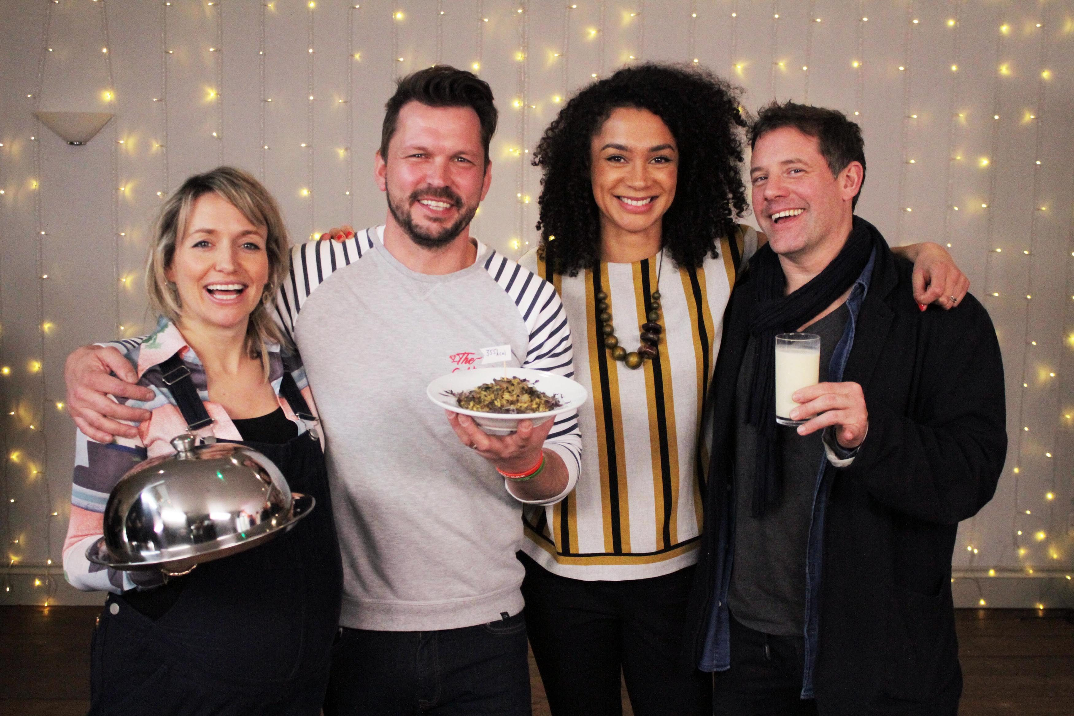 Food Unwrapped Does Christmas 2020 Meet the Food Unwrapped 2020 cast   Jimmy, Matt, Kate and Helen!