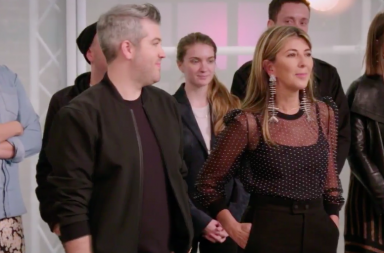 Screen Shot: Judges and mentor - Bravo, Project Runway