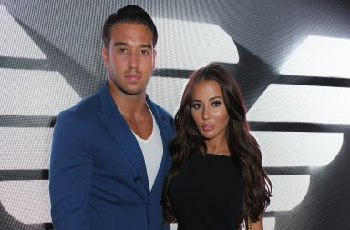 LONDON, ENGLAND - JULY 18: James Lock (L) and Yazmin Oukhellou attend the Emporio Armani Fragrance 'Stronger With You' party at Roast on July 18, 2018 in London, England. (Photo by David M. Benett/Dave Benett/Getty Images for Emporio Armani)