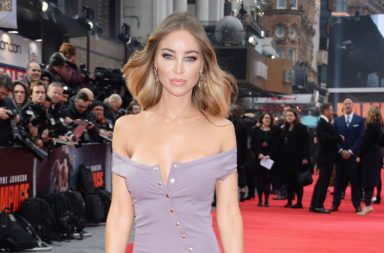 """LONDON, ENGLAND - APRIL 11: Lauren Pope attends the European Premiere of """"Rampage"""" at Cineworld Leicester Square on April 11, 2018 in London, England. (Photo by David M. Benett/Dave Benett/WireImage)"""
