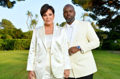 CAP D'ANTIBES, FRANCE - MAY 23: Kris Jenner and Corey Gamble attend the amfAR Cannes Gala 2019 at Hotel du Cap-Eden-Roc on May 23, 2019 in Cap d'Antibes, France. (Photo by Pascal Le Segretain/amfAR/Getty Images for amfAR)