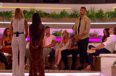 Screenshot: Love Island 2019