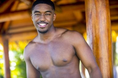 Meet Raymond Gantt who is looking for love this summer on LOVE ISLAND. New one-hour episodes continue every weeknight through Wednesday, August 7 (8:00-9:00 PM, ET/PT). Photo: Colin Young-Wolff/CBS Entertainment ©2019 CBS Broadcasting, Inc. All Rights Reserved.