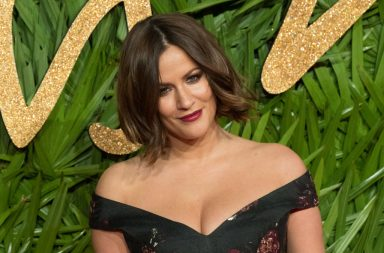 LONDON, ENGLAND - DECEMBER 04: Caroline Flack attends the Fashion Awards 2017 In Partnership With Swarovski at Royal Albert Hall on December 4, 2017 in London, England. (Photo by Stephane Cardinale - Corbis/Corbis via Getty Images)