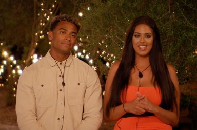 From ITV Studios Love Island: SR5: Ep45 on ITV2 Pictured: Jordan and Anna are dumped from the Island.