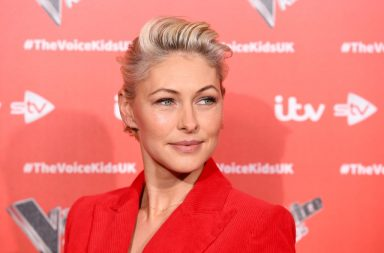 """LONDON, ENGLAND - JUNE 06: Emma Willis attends a photocall to launch the new series of """"The Voice Kids"""" at The RSA on June 06, 2019 in London, England. (Photo by Jeff Spicer/Getty Images)"""