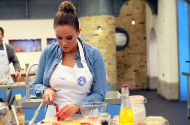 Celebrity Masterchef -- Picture Shows: Vicky Pattison - (C) Shine TV - Photographer: Production