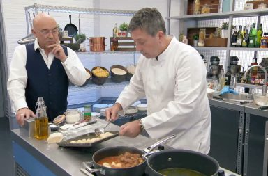 Celebrity Masterchef - Picture Shows: Gregg Wallace, John Torode - (C) Shine TV - Photographer: Screengrab