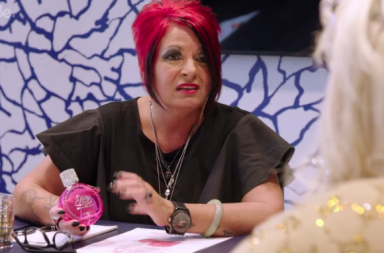 Screenshot: Gemma Collins: Diva Forever episode 5 perfume