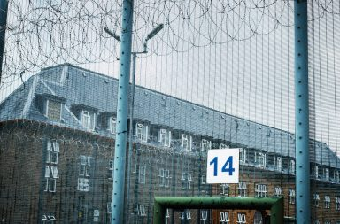 A Chalkboard Production for ITV INSIDE PRISON: BRITAIN BEHIND BARS Ep3 Thursday 10th October 2019 on ITV Pictured: Prison fence with barb wire In the third episode of the series we follow Jamie Smith and the dedicated search team of HMP Isle of Wight – a specialist prison housing many of the UK's sex offenders and paedophiles. With intelligence gathered regarding a USB doing the rounds rumoured to contain child porn, Jamie and his team face a game of cat and mouse to try and locate the item in the vast prison. He told us there's a memory stick doing the rounds on this wing - that's full of child porn - and that's the reality….That stick, in this environment, is massive. But it's probably the size of your thumb, and as you can see, C-Wing's huge. Jamie and his team are also facing a constant battle against illegal drugs being smuggled into the prison. With prisoners using increasingly sophisticated and creative ways to bring drugs into prison, the team use the latest technology to identify everything from letters sprayed with spice solution to a stash of spice hidden within a chess pawn. Over at HMP Bullingdon Governor Ian Blakeman has introduced a radical new programme to address the addiction epidemic within the prison. The ways of getting drugs into the prison system - it's horrendous, you will never stop it, but there are genuine people who want to be drug free. Accepting they are losing the battle against drugs in the wider prison Blakeman and Supervising Officer Walker have launched a drug free spur and are only admitting prisoners they feel want to avoid the abundance of drugs in the wider prison. (C) Chalkboard Productions For further information please contact Peter Gray 0207 157 3046 peter.gray@itv.com This photograph is © Chalkboard and can only be reproduced for editorial purposes directly in connection with the programme INSIDE PRISON: BRITAIN BEHIND BARS or ITV. Once made available by the ITV Picture Desk, this photograph can be reproduced once only up 