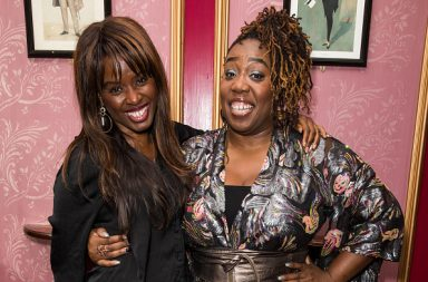 LONDON, UNITED KINGDOM - 2019/10/07: June Sarpong and Chizzy Akudolu attend The Black Magic Awards 2019 'Women's Edition' held at The Criterion Theatre, Piccadilly Circus in London. (Photo by Phil Lewis/SOPA Images/LightRocket via Getty Images)