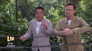Why are Ant and Dec wearing red ribbons? I'm A Celeb viewers spot new accessory
