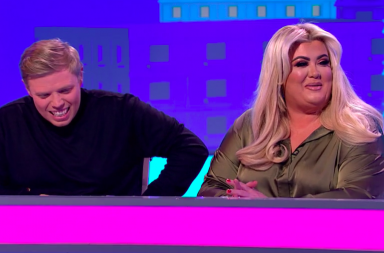 Screenshot: Gemma collins on 8 Out of 10 Cats