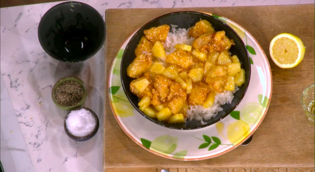 This Morning: How to make Gok Wan's lemon chicken - full ...