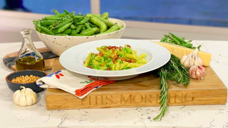 This Morning: Make Angela Hartnett's summer pasta - pea ...