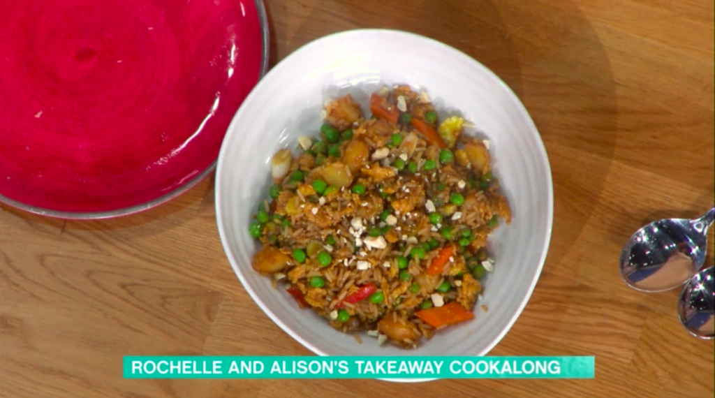 This Morning: Gok Wan's special fried rice and chilli ...