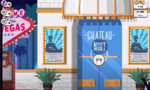 "Chateau Nuit in Screenshot of Youtube video ""Kim Kardashian: Hollywood - Locations for Gigs and Appearances"" (https://www.youtube.com/watch?v=8RwpRb_GyMg)"