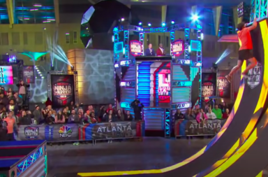 American Ninja Warrior https://www.youtube.com/watch?v=sagoTNYG_10