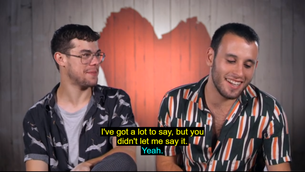 aryeh and jack first dates