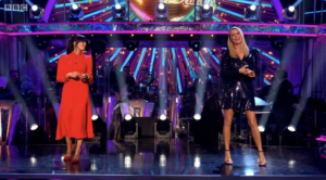 Buy Claudia Winkleman's red dress worn on Strictly 2020!