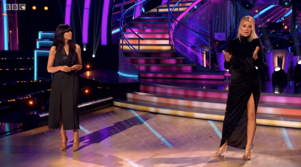 Claudia Winkleman Strictly Come Dancing