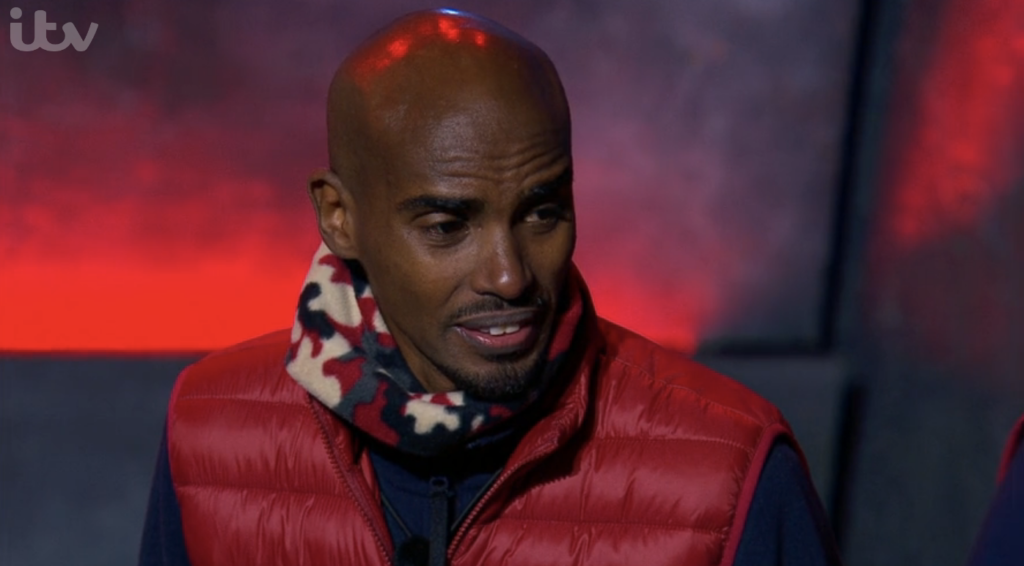 is mo farah vegan