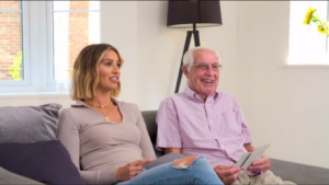 Who is Ferne McCann's grandad? Frank gets birthday dream on ITV's First Time Mum!