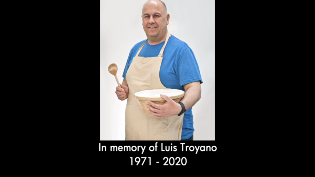 Who was Luis Troyano? Bake Off pays tribute to former contestant