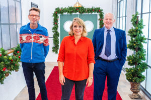 Meet the 2020 Great British Christmas Menu judges: Matthew Fort, Kerry Godliman and Oliver Peyton