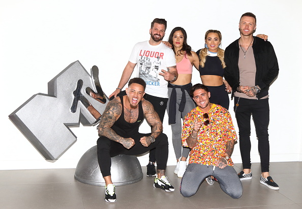 (L to R) Ashley Cain, Johnny Bananas, Nany Gonzalez, Stephen